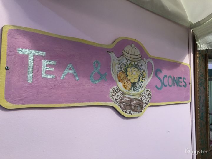 Whimsical Tea Room/Event Room in historical area.  Photo 5