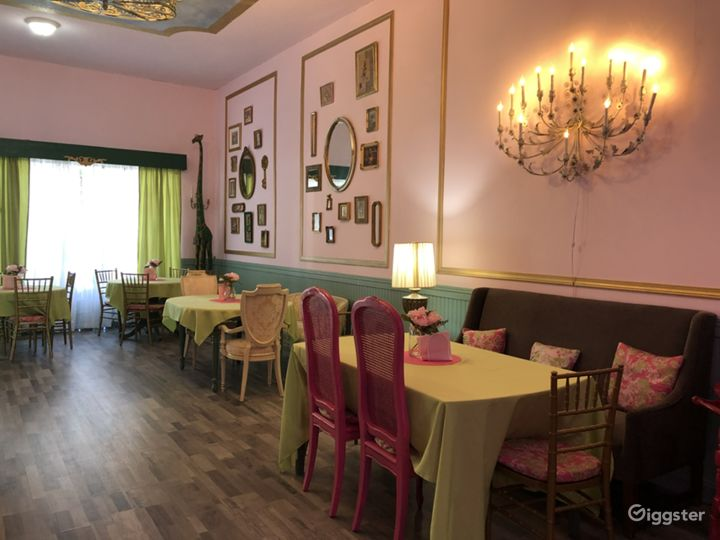 Whimsical Tea Room/Event Room in historical area.  Photo 4
