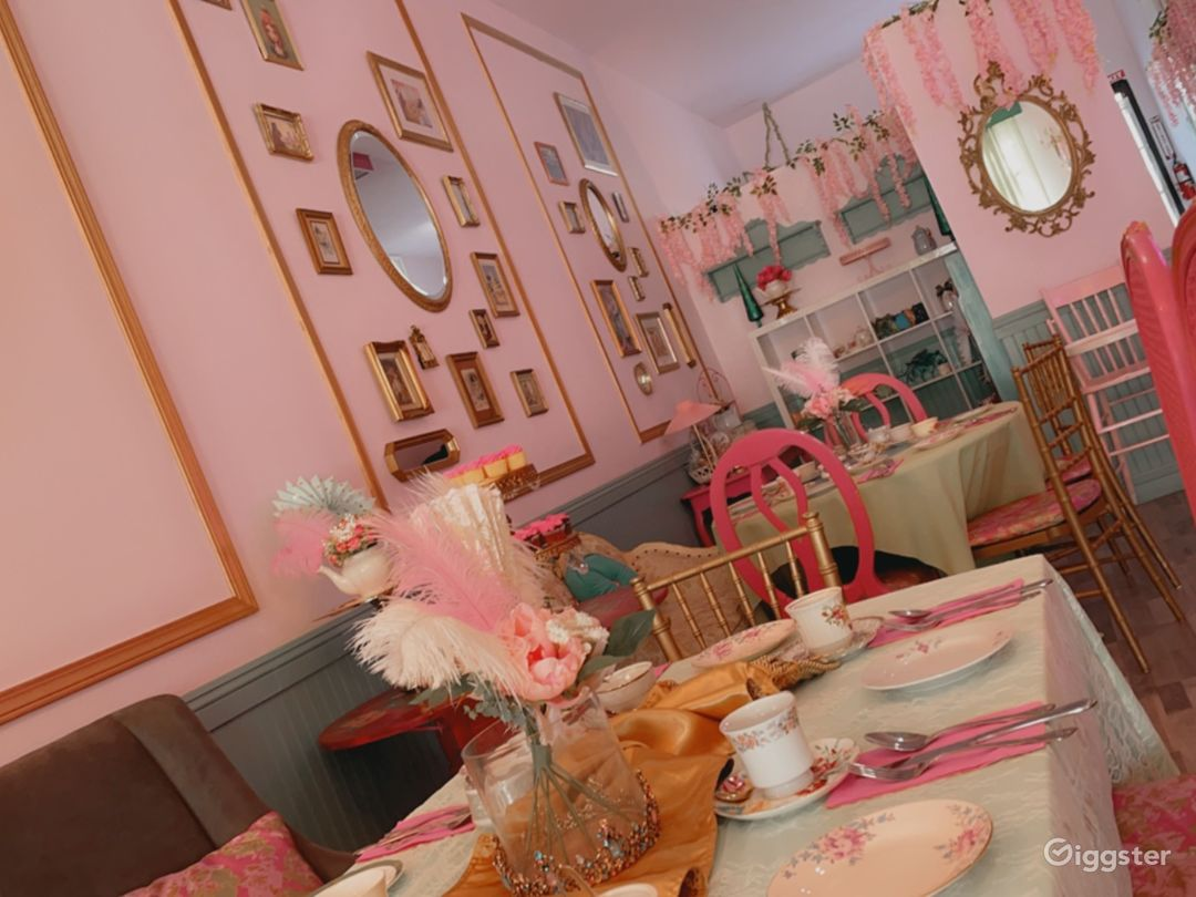 Whimsical Tea Room/Event Room in historical area.  Photo 1