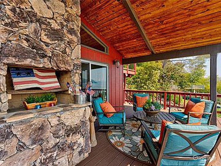 Deck/Outside Fireplace