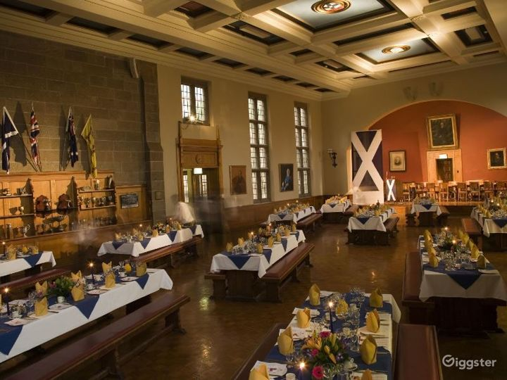The Grand Dining Hal in Traditional Academic Style Photo 5