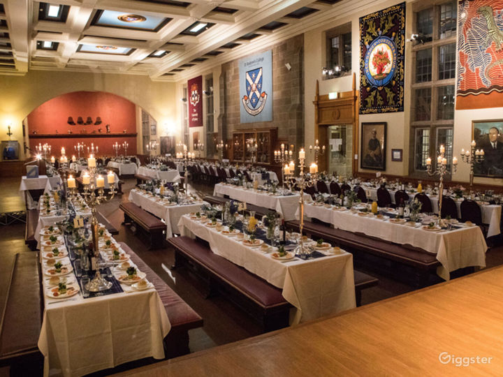 The Grand Dining Hal in Traditional Academic Style Photo 2