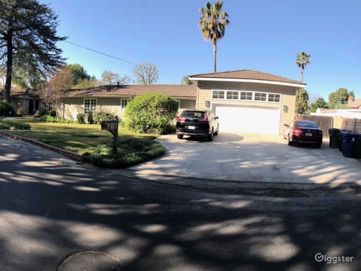 Front yard including driveway