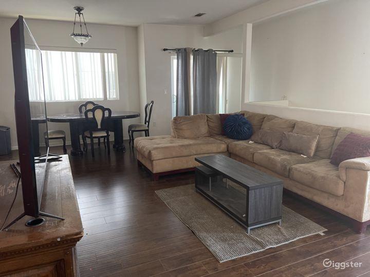 Living room opposite angle.