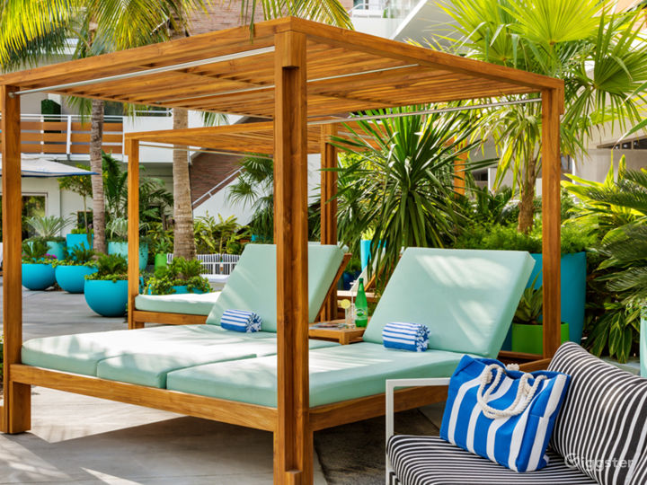 Swanky Miami Pool Deck Photo 3
