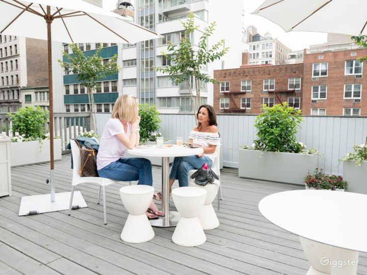 Spacious Roof Deck in Union Square Photo 5