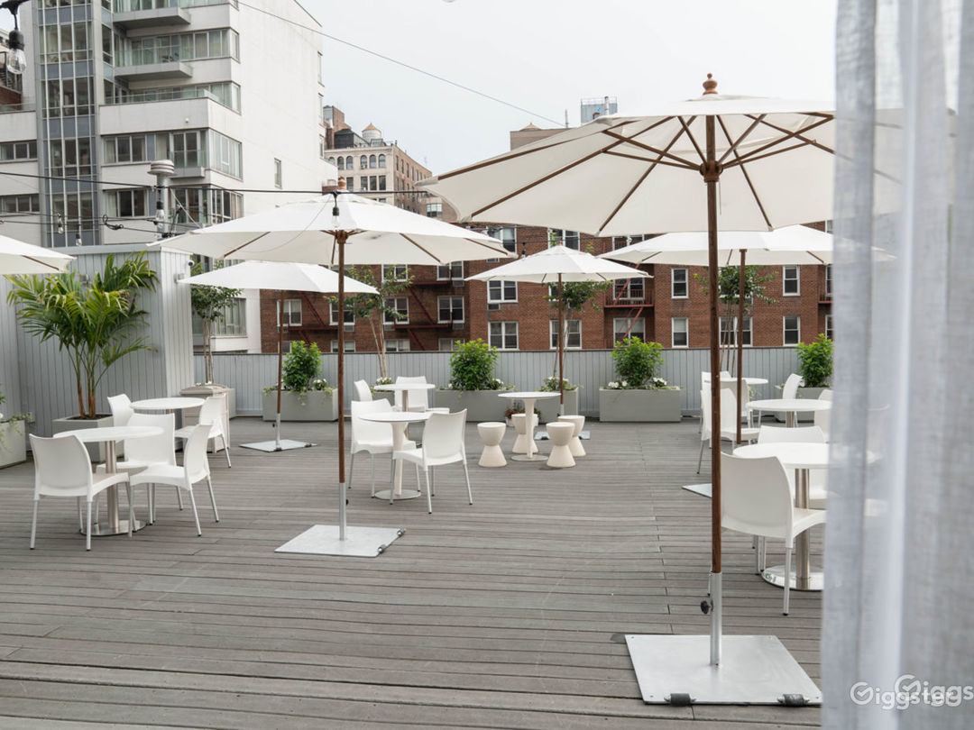 Spacious Roof Deck in Union Square Photo 1