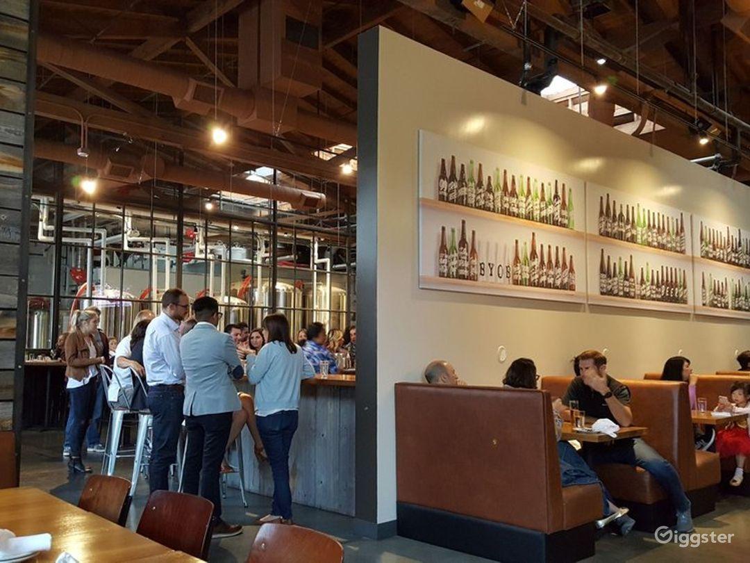 Urban Restaurant and Brewery in Los Gatos Photo 1