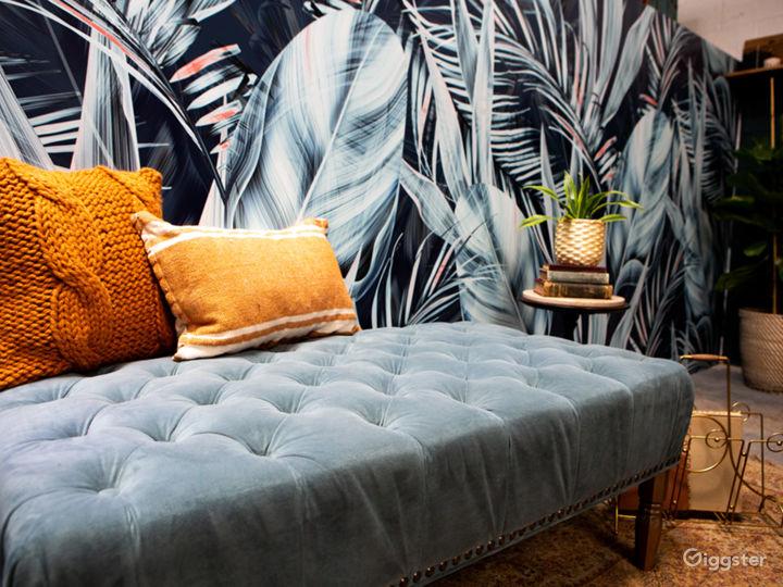 Tropical Midcentury Modern Writers Room Photo 3