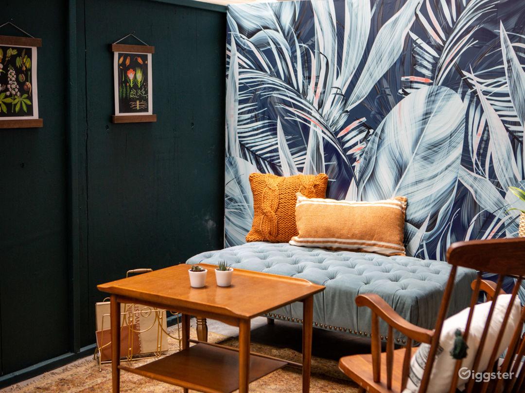 Tropical Midcentury Modern Writers Room Photo 1