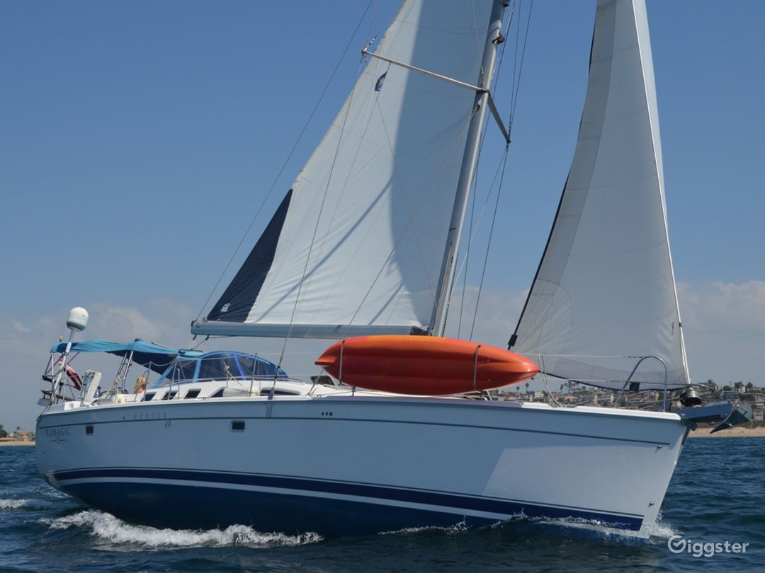 50' Sailboat Perfect for Photos or Filming Photo 1