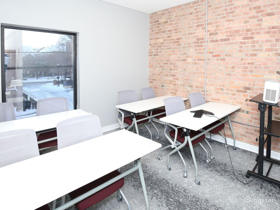 Small Conference Room with Brick Walls Photo 1