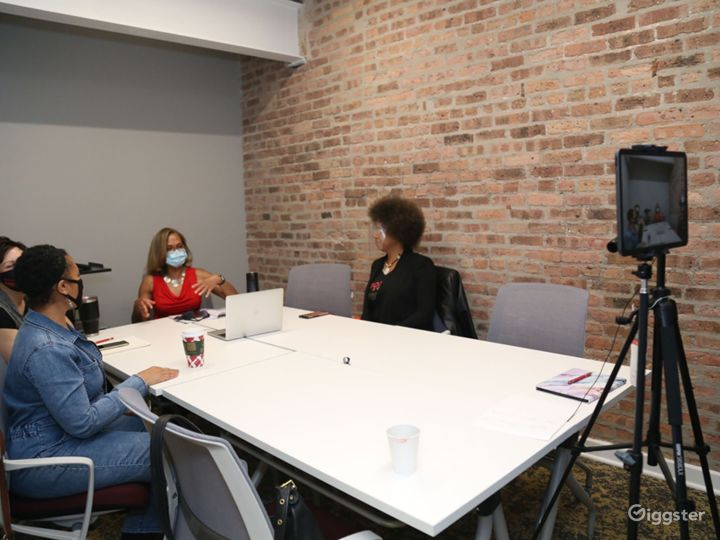 Small Conference Room with Brick Walls Photo 4