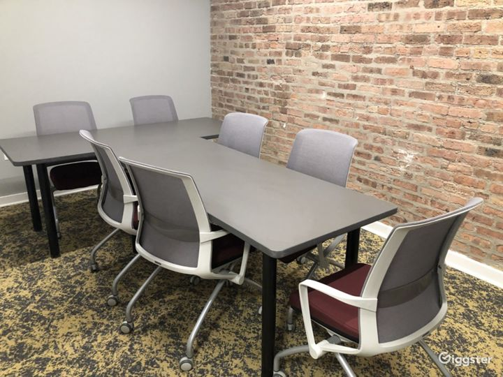 Small Conference Room with Brick Walls Photo 2