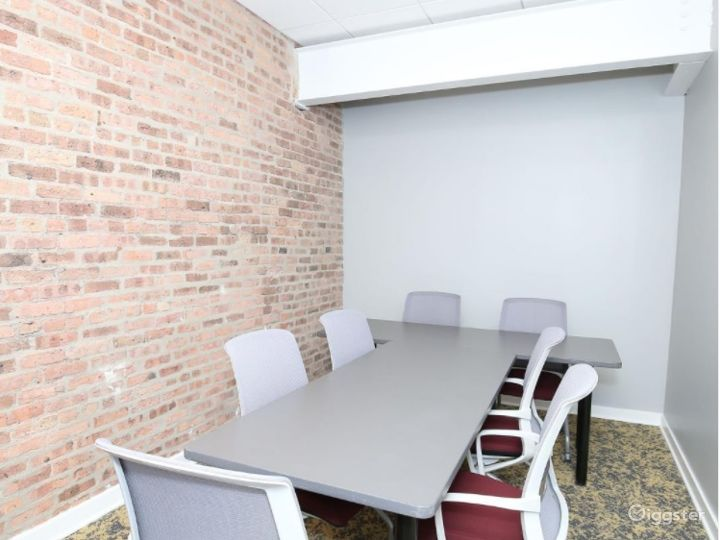 Small Conference Room with Brick Walls Photo 3