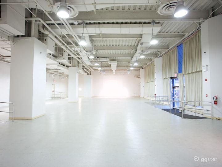 Spacious, Ground Floor, White Box Space