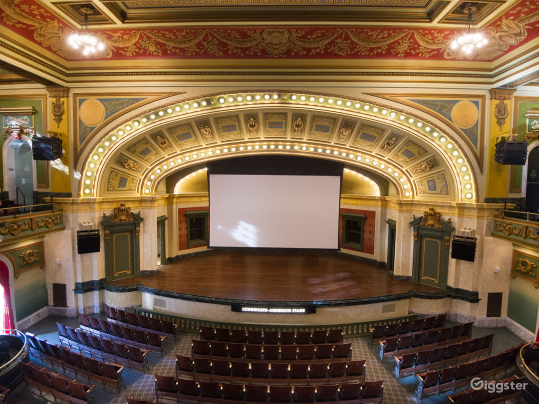 556-seat Anderson Theater