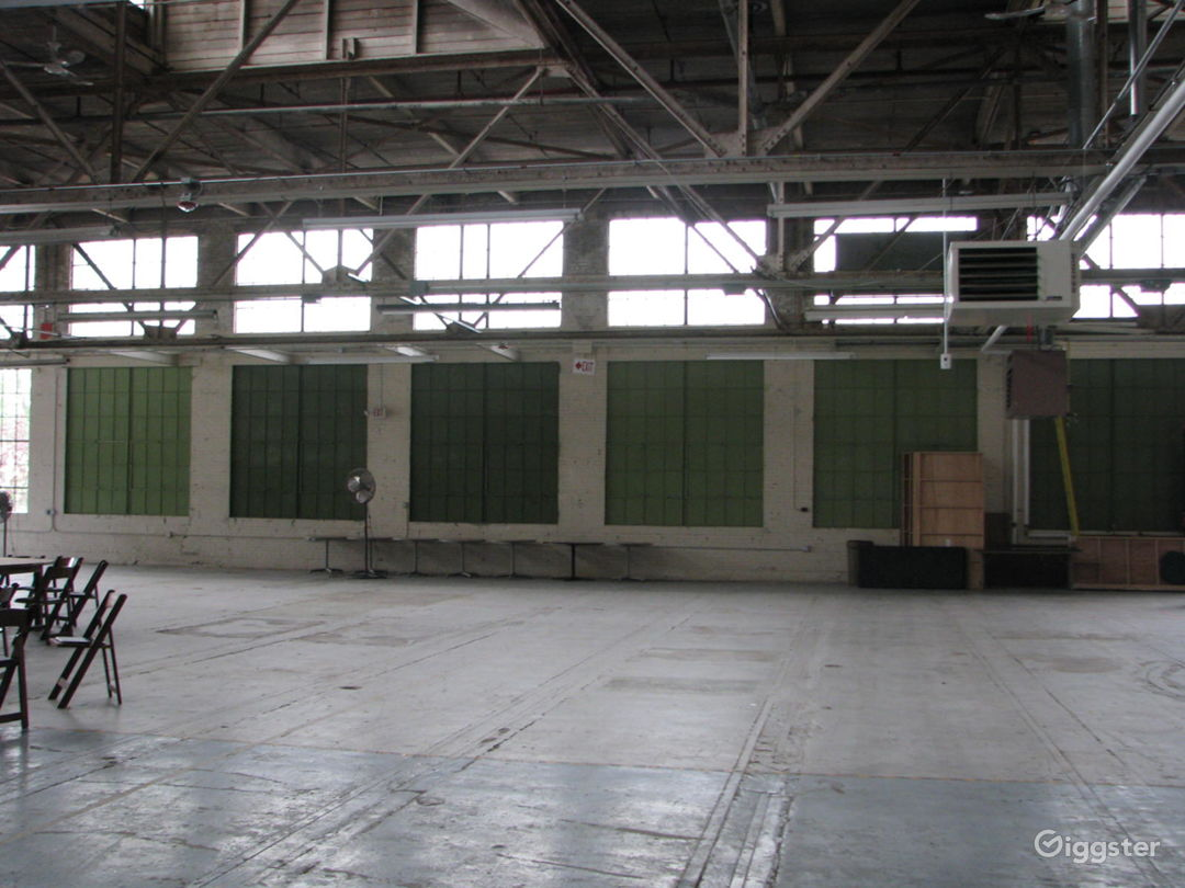 Industrial Warehouse Event Space