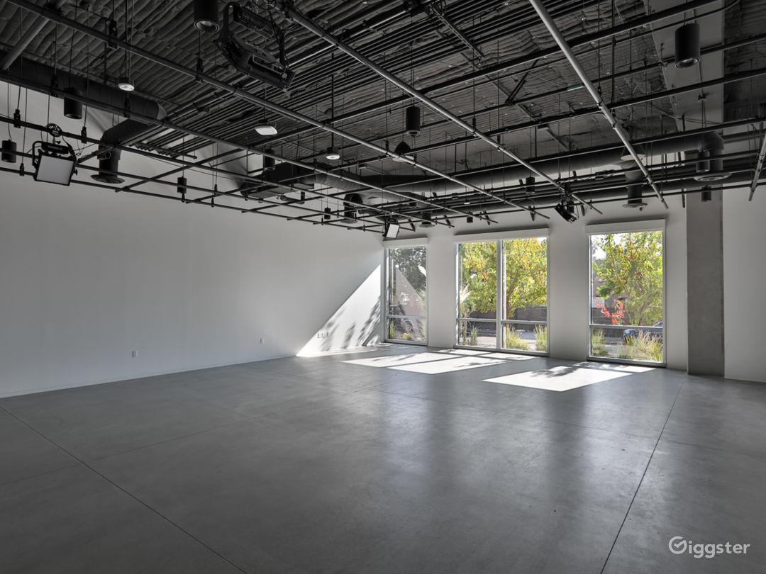 1500 sq foot studio space