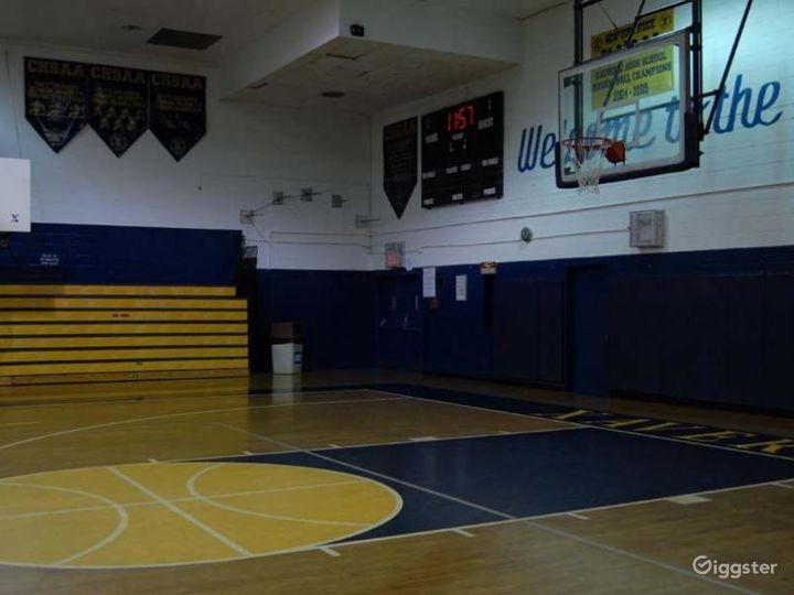 School basketball gym facility: Location 4248 Photo 5