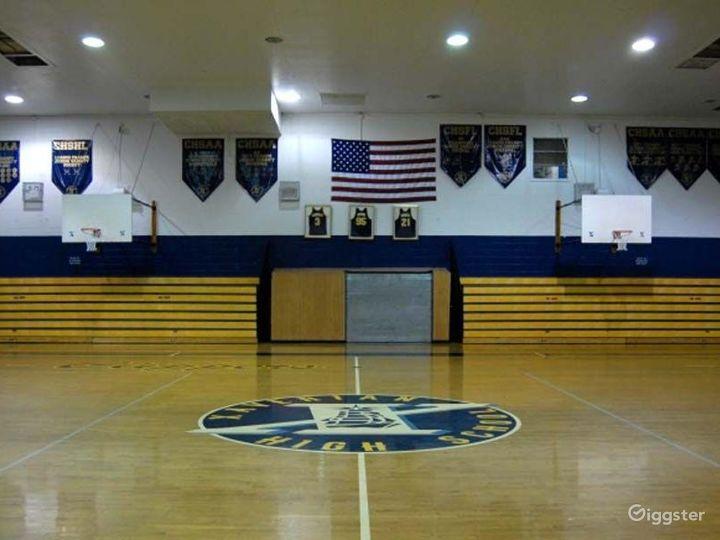 School basketball gym facility: Location 4248