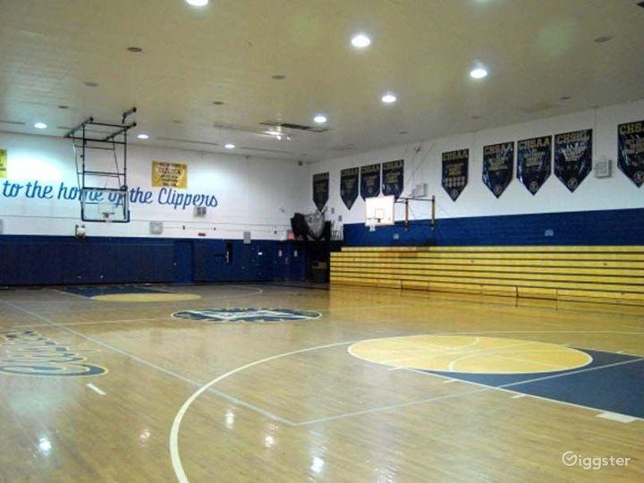 School basketball gym facility: Location 4248 Photo 2
