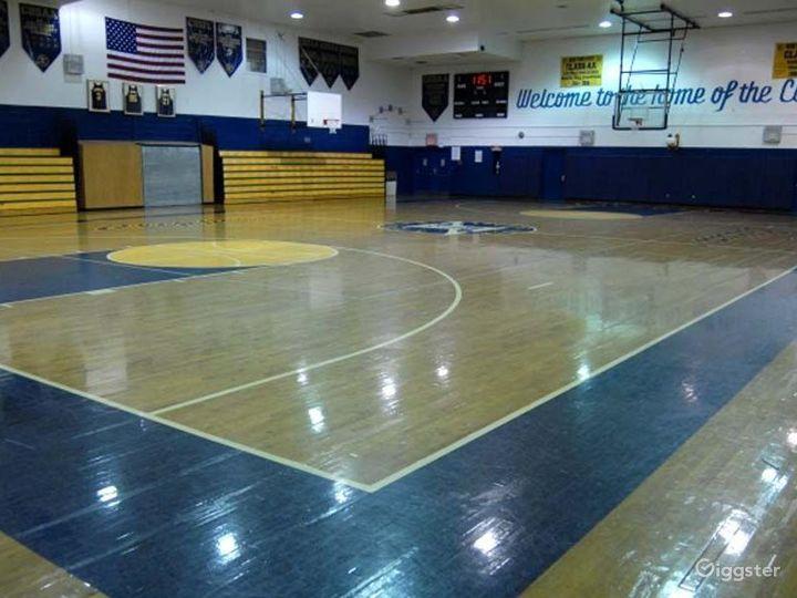 School basketball gym facility: Location 4248 Photo 3