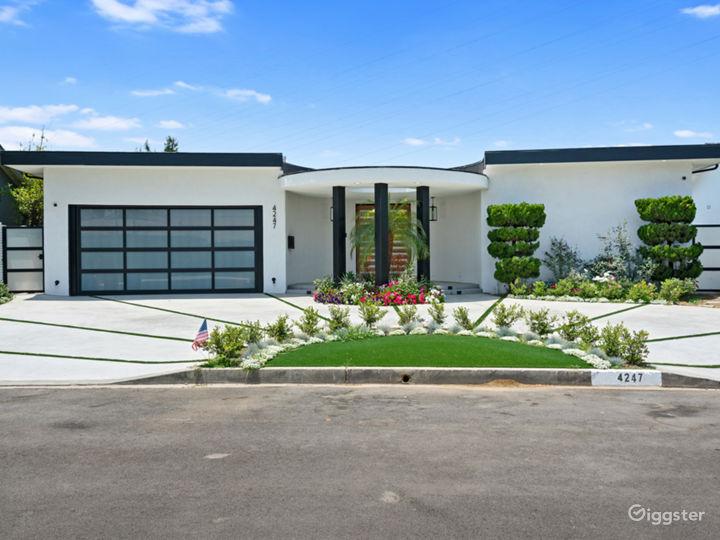 Amazing Unique House Design Entrance with lush landscaping