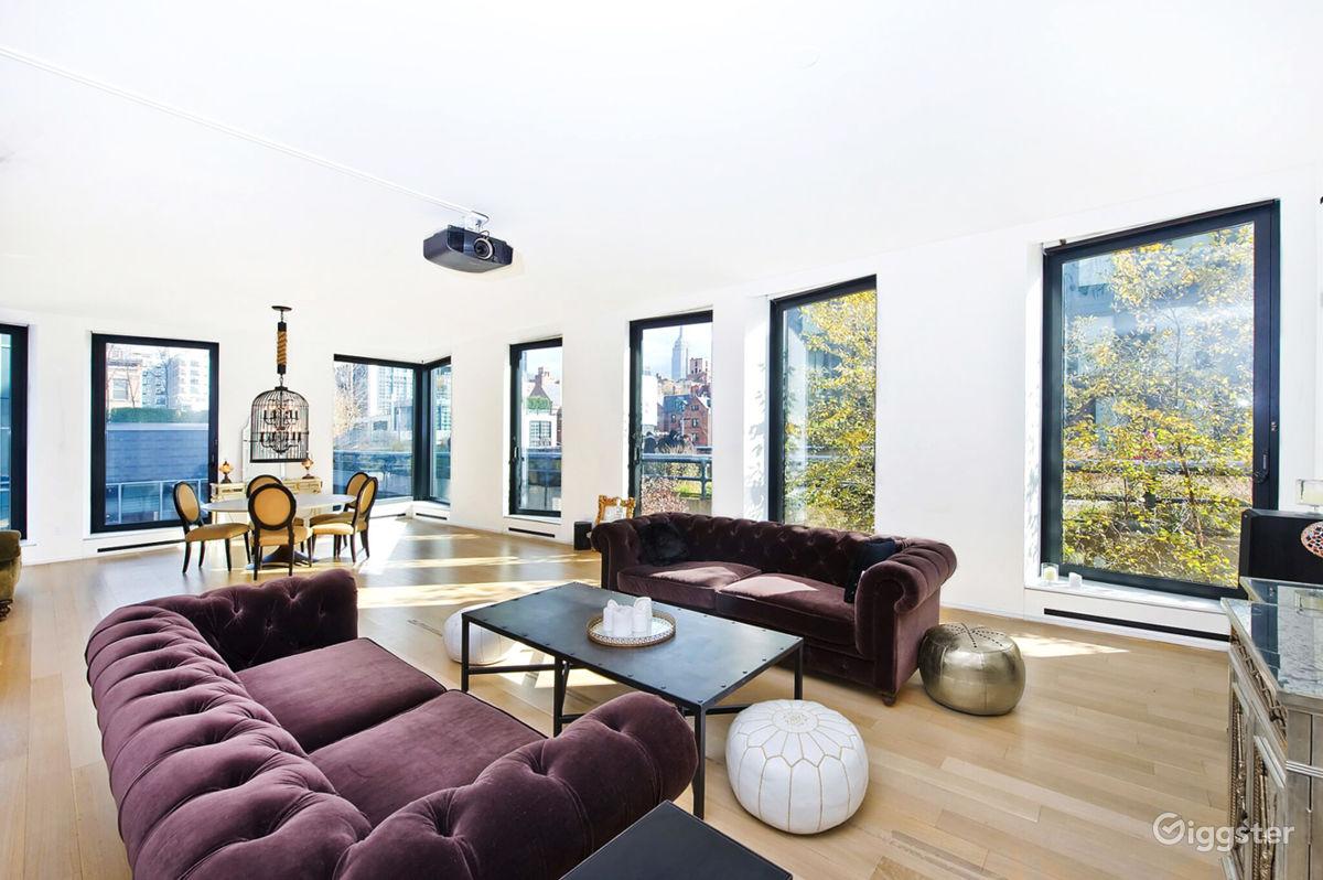 Rent The Apartment/Penthouse/Condo, Loft(residential) Luxury Condo  High