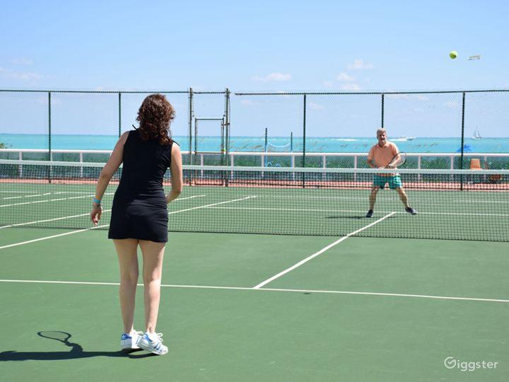 Oceanfront Tennis Court Photo 4