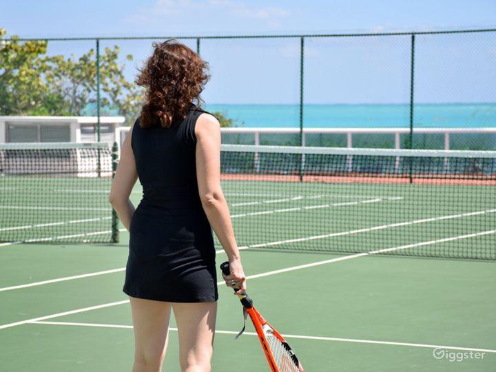 Oceanfront Tennis Court Photo 3