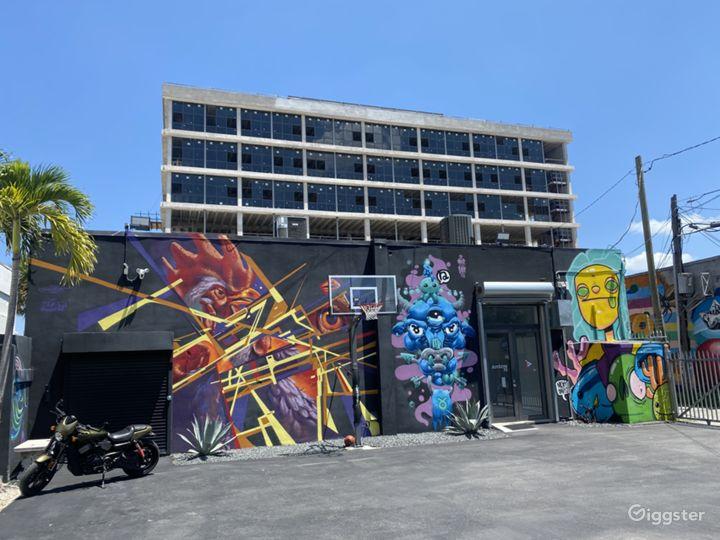 Spacious Art Gallery and Recording Studio