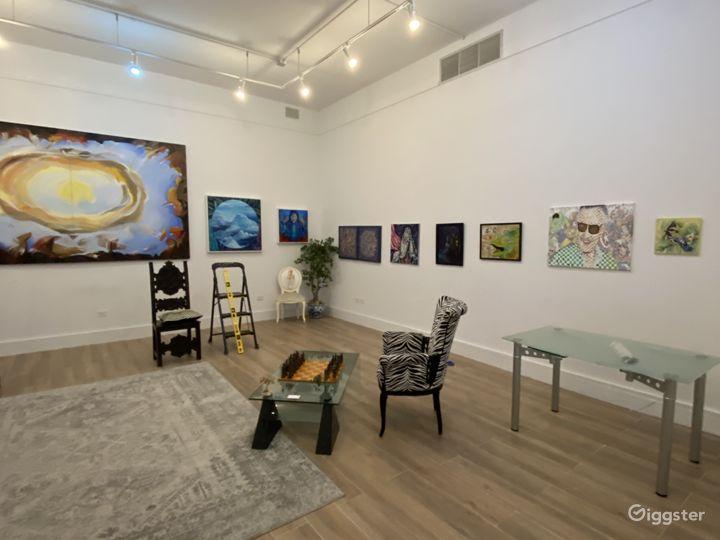 Spacious Art Gallery and Recording Studio Photo 3