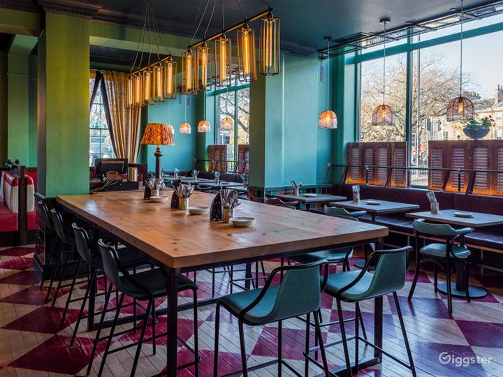 Colorful Restaurant in Edinburgh Photo 2
