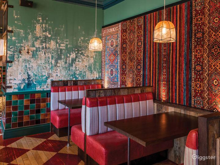 Colorful Restaurant in Edinburgh Photo 4