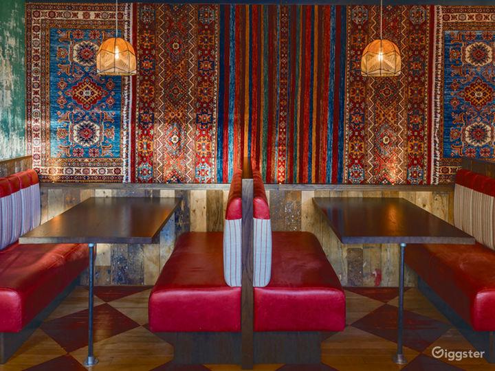 Colorful Restaurant in Edinburgh Photo 5
