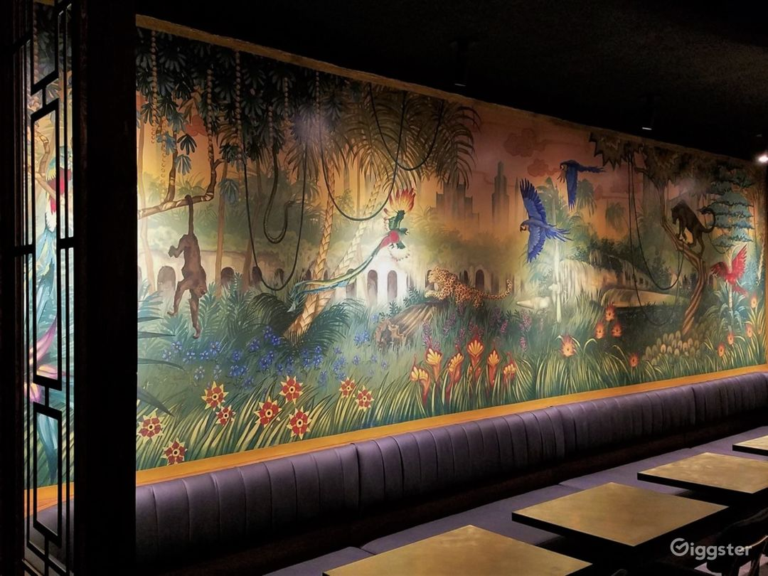 Custom mural by Stacy Lynn Smith