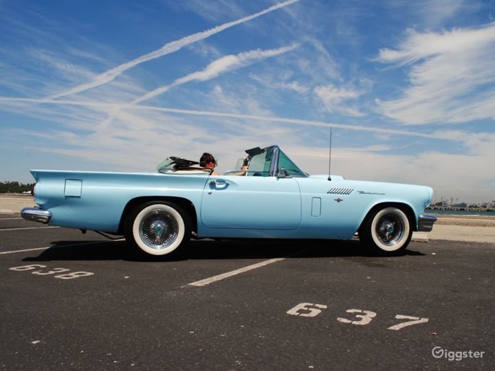 1957 Ford T-Bird Convertible  Photo 3