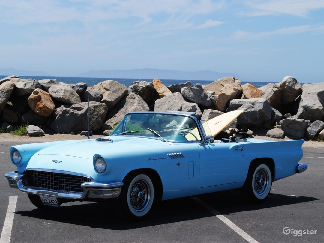 1957 Ford T-Bird Convertible  Photo 1