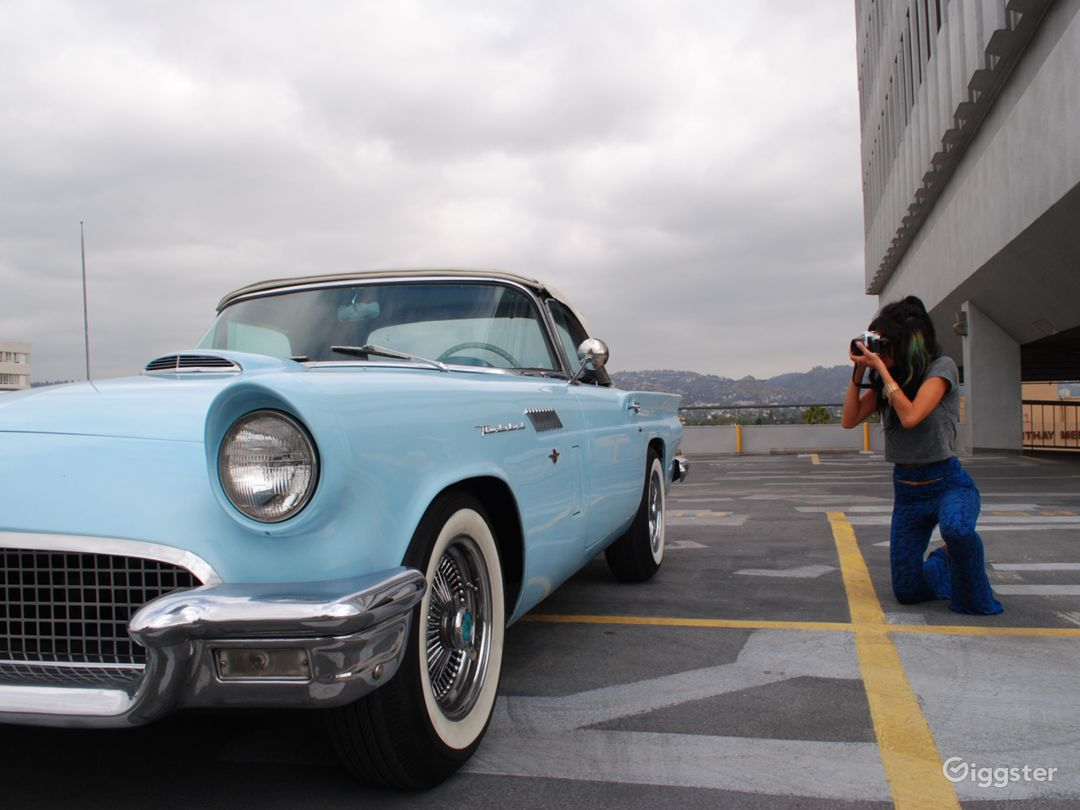 1957 Ford T-Bird Convertible  Photo 2