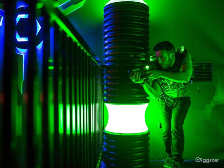 A Fun Laser Tag Room in Maple Grove  Photo 2