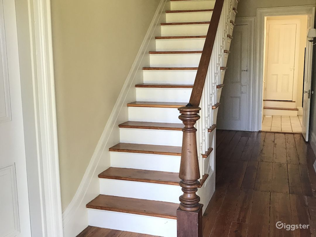 1870s farmhouse staircase
