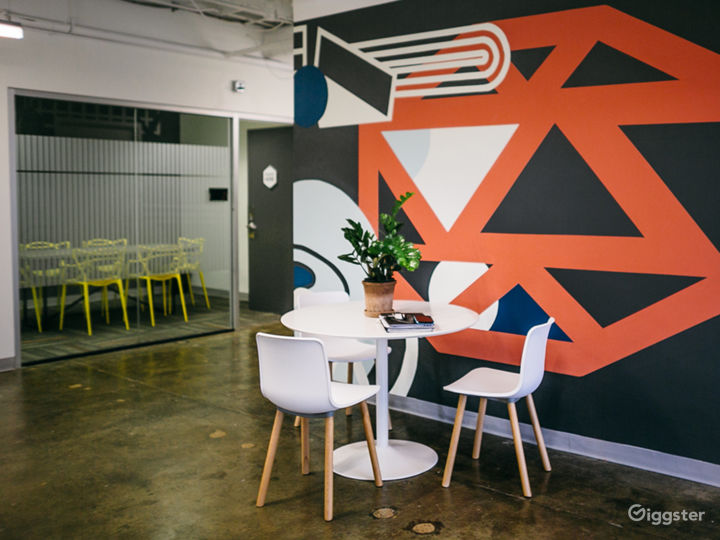 Floor Six Mural Lounge