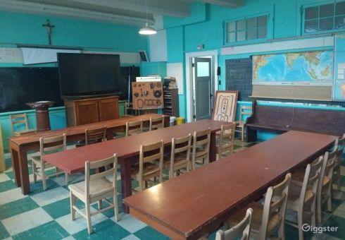 Historic Military School Classroom Photo 1