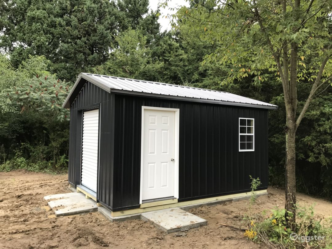 This is the shed on the property.