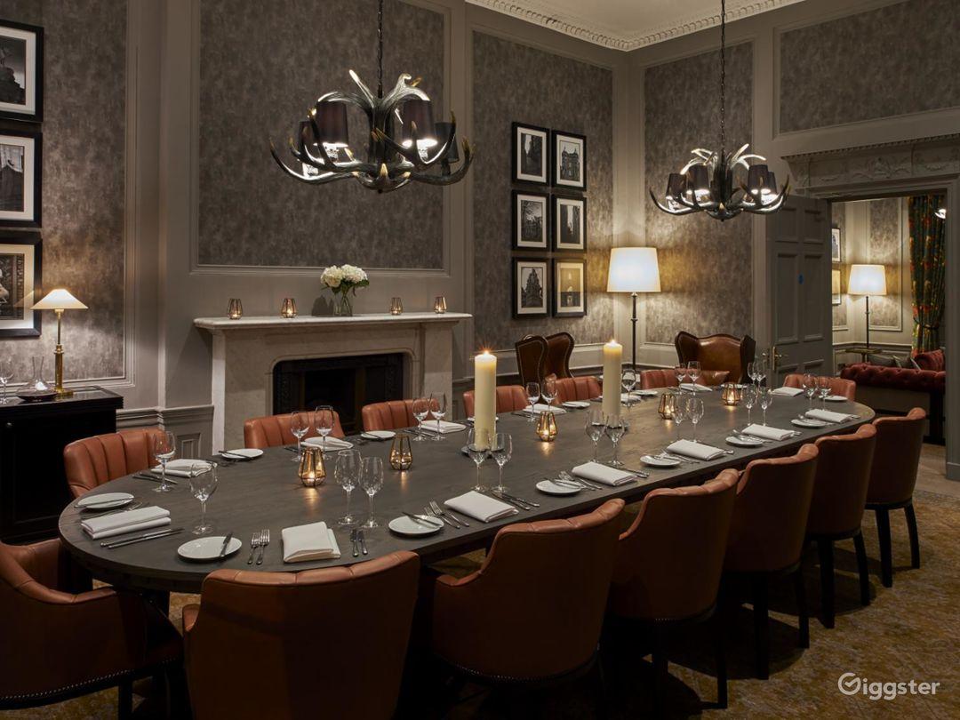 Beautiful Private Dining Room in Edinburgh Photo 1
