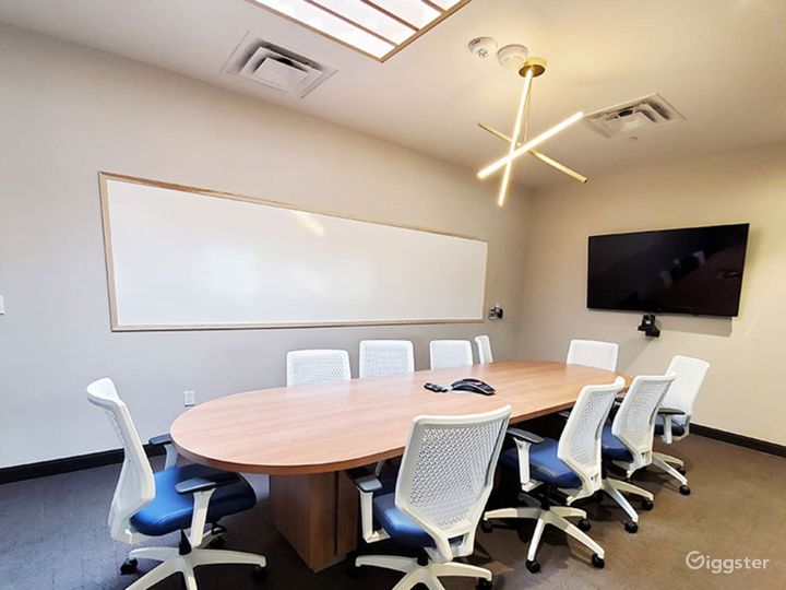 Clean & Professional Conference Room in Richardson Photo 5