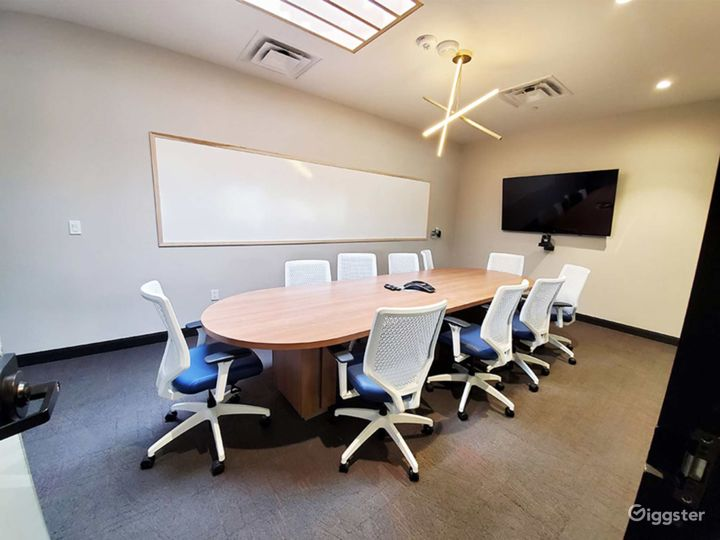 Clean & Professional Conference Room in Richardson Photo 2