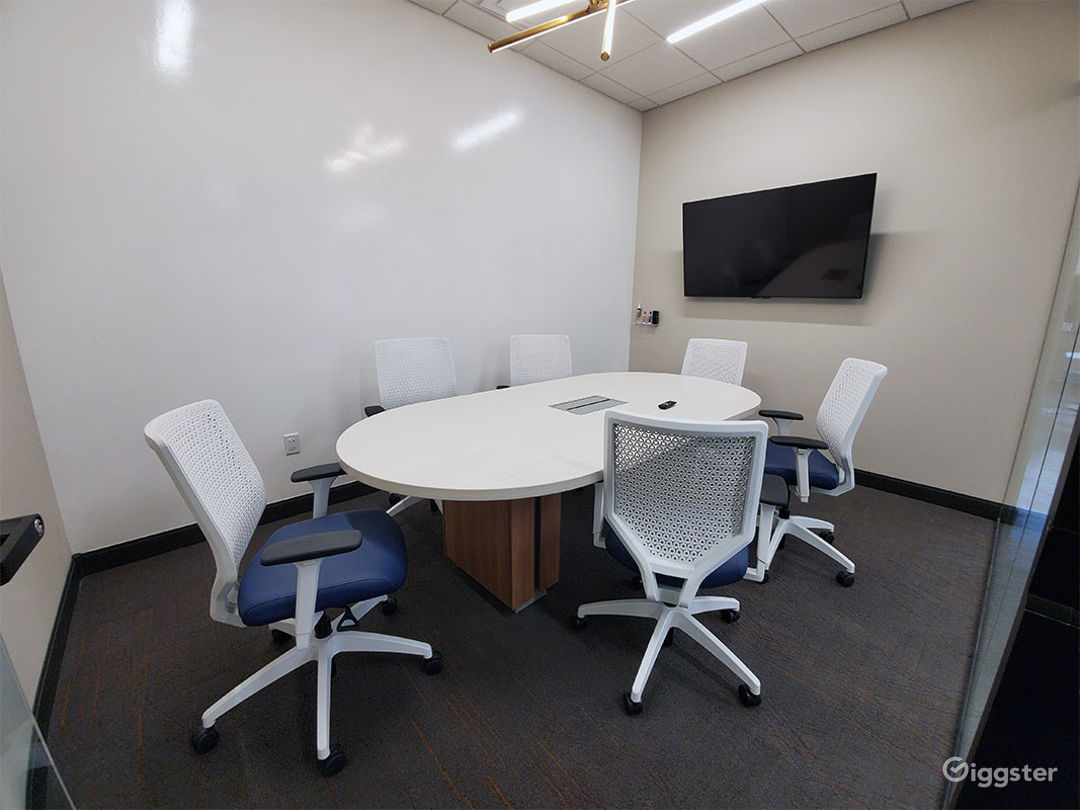 Clean & Professional Conference Room in Richardson Photo 1