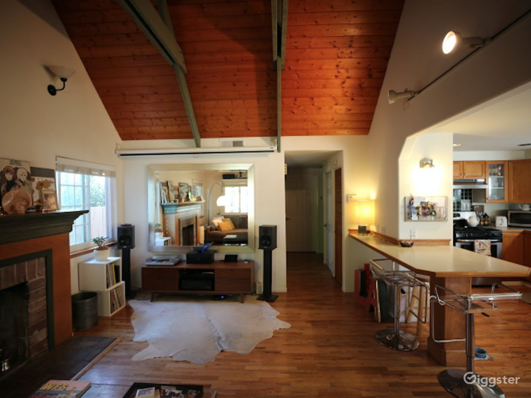 Charming A-Frame House with Character Photo 4